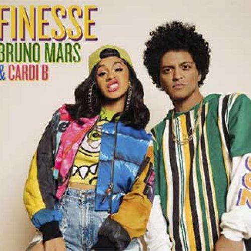 Bruno Mars slipper ny remix av 'Finesse' med Cardi B