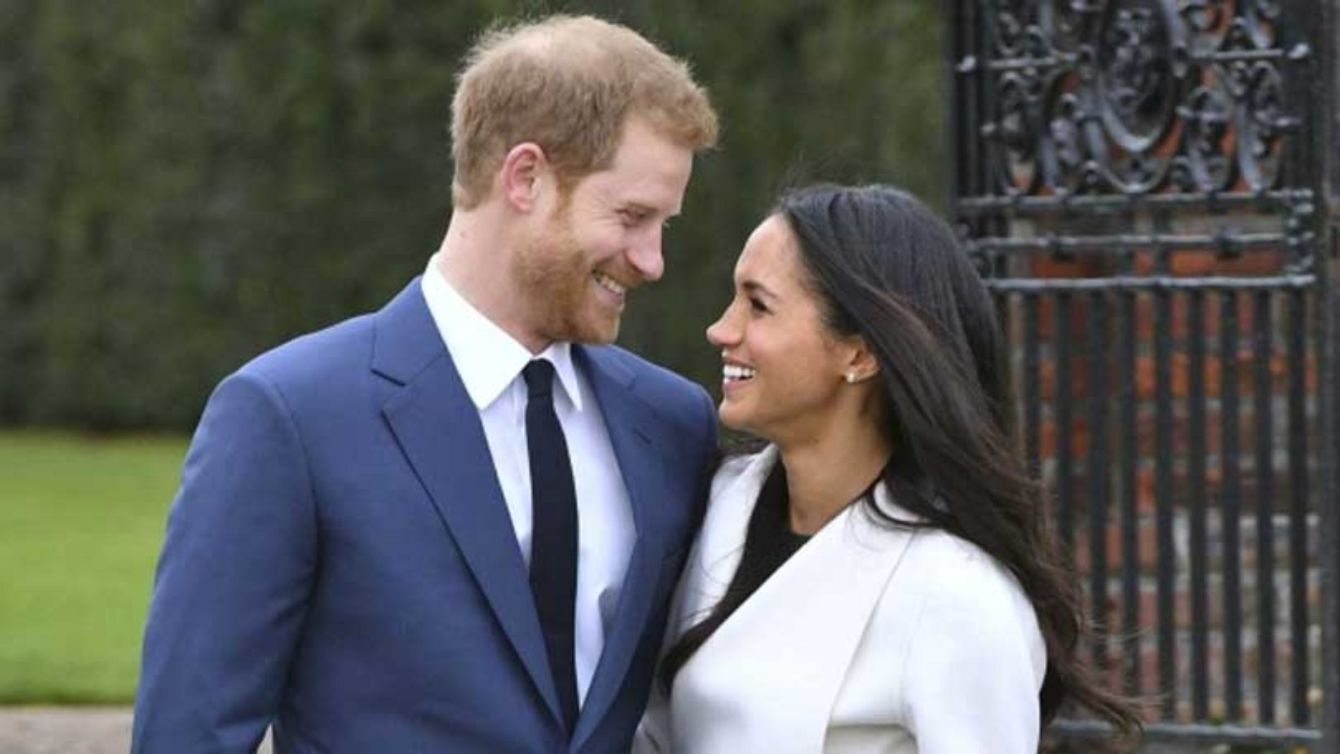 Harry og Meghan på bryllupsreise i Afrika