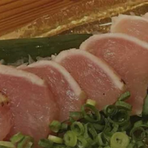 Japanske restauranter serverer kylling sashimi!