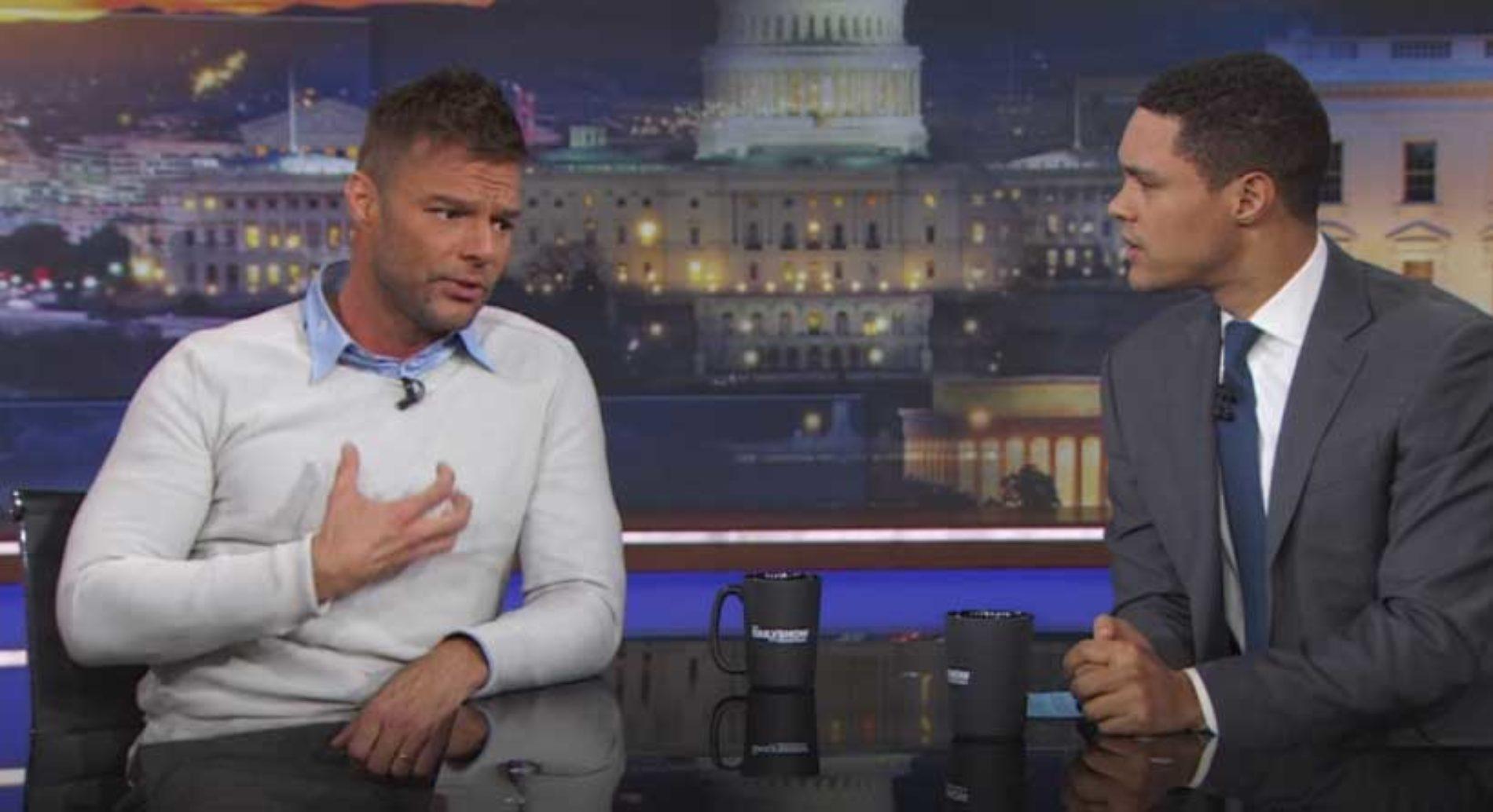 Ricky Martin om å stå frem som homofil: 'Ekstremt smertefullt'