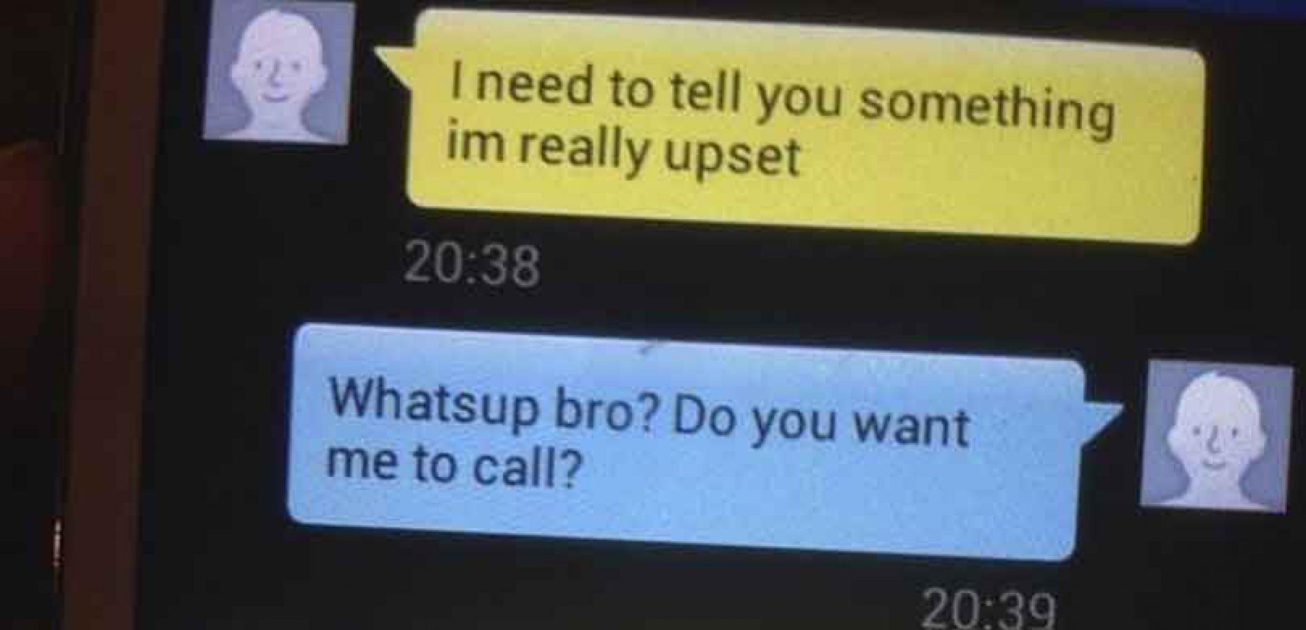 Forteller vennen at han er homofil – svaret han får er fantastisk!