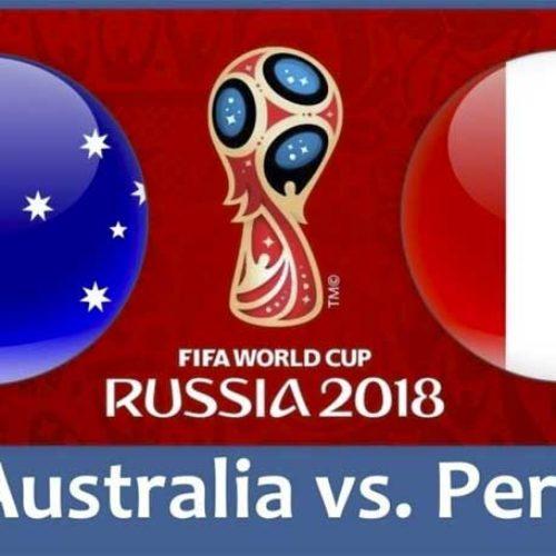 Australia – Peru – VM 2018 – vi tipper resultat