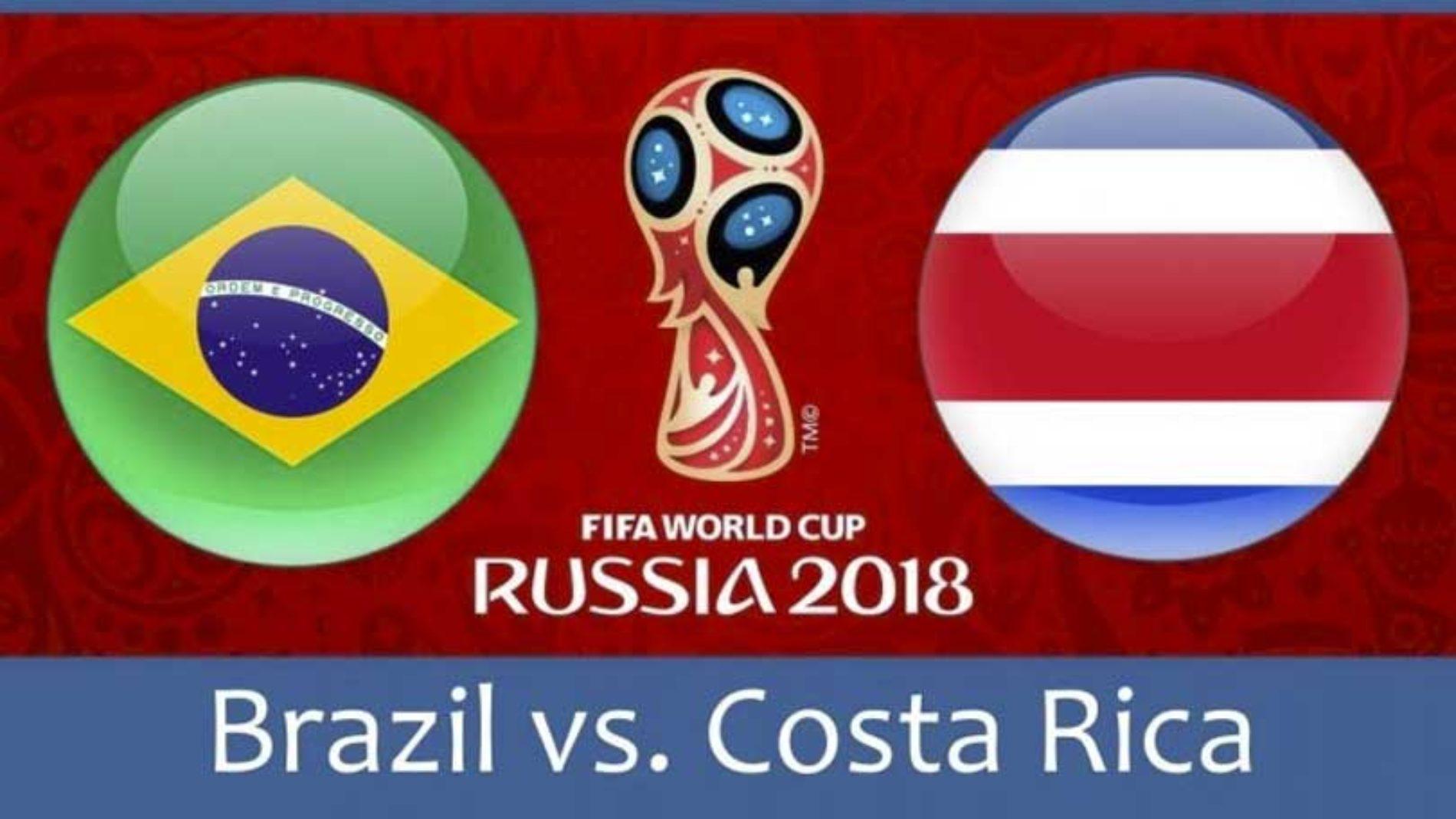 Brasil – Costa Rica – VM 2018 – resultat og tips