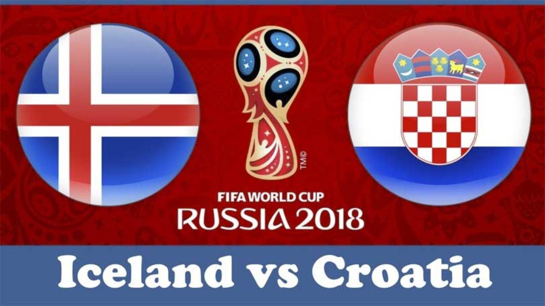 Island – Kroatia – VM 2018 – resultat og tips