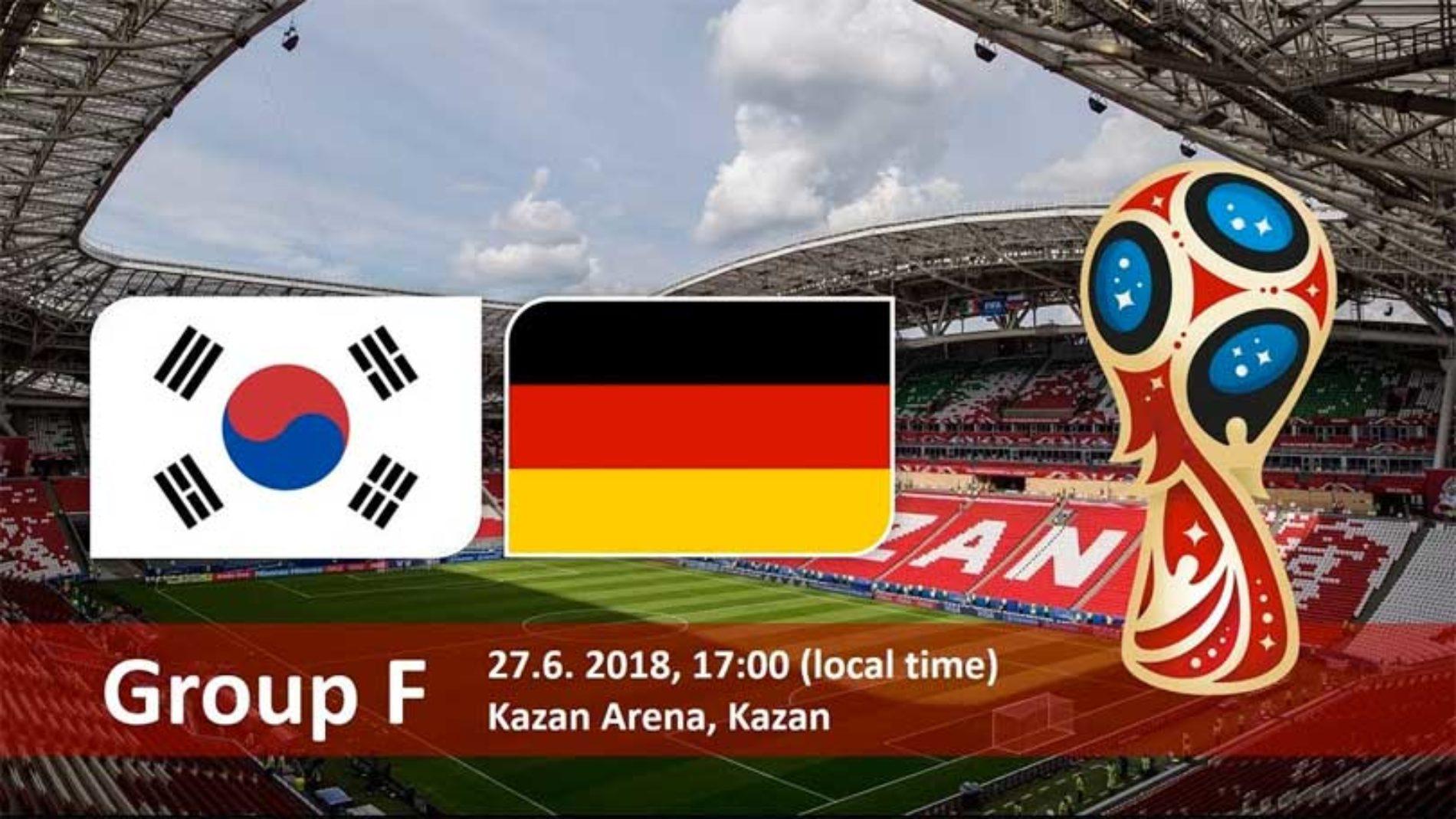 Sør-Korea –  Tyskland – VM 2018! Tips og resultat!