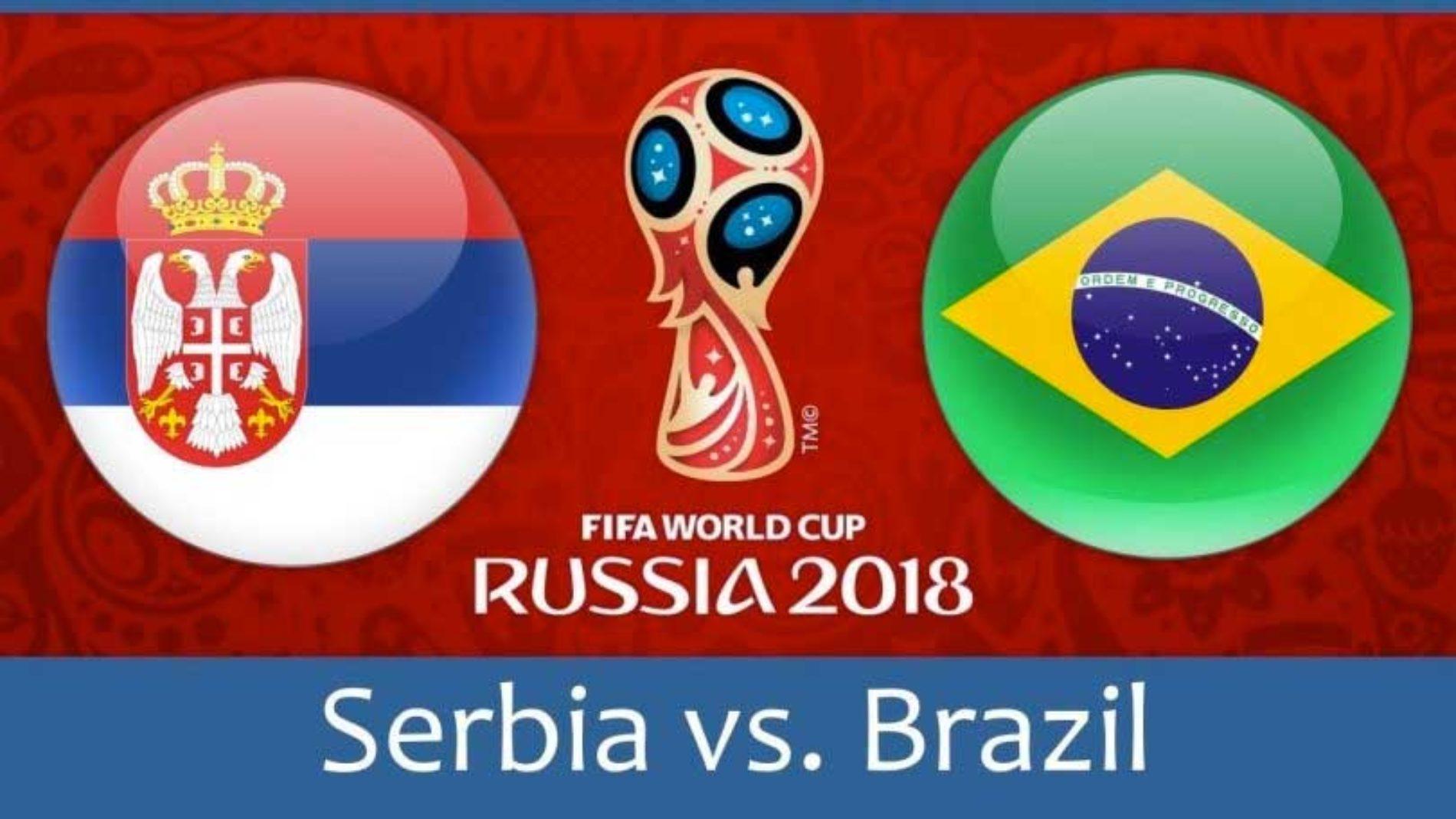 Serbia – Brasil – tips og resultat VM 2018