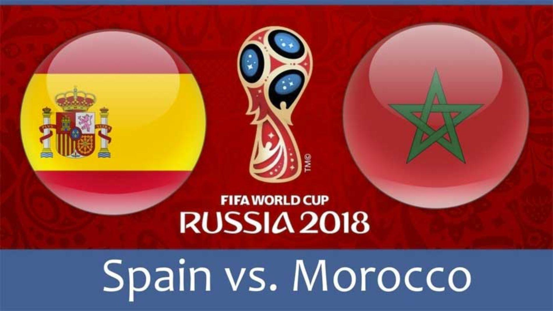 Spania – Marokko – VM 2018 – sjekk tipset!