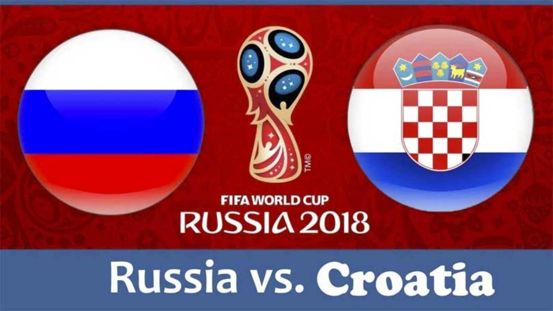 Russland – Kroatia – VM 2018 – tips og resultat