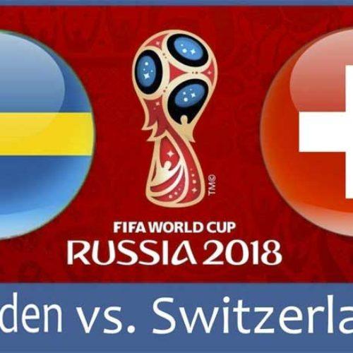 Sverige – Sveits – VM 2018 – vårt tips
