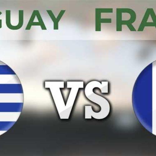 Uruguay – Frankrike – kvartfinale VM 2018 – Tips til resultat